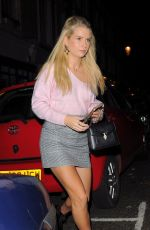 LOTTIE MOSS Out and About in Chelsea 10/09/2017
