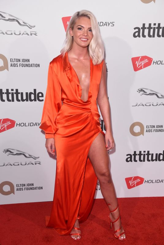 LOUISA JOHNSON at Attitude Magazine Awards in London 10/12/2017