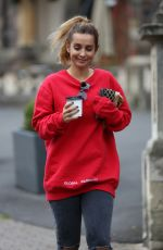 LOUISE REDKNAPP Out and About in Malvern 10/14/2017