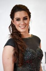LUCIE JONES at British Academy Cymru Awards in Cardiff 10/08/2017