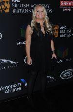 LUCY DAVIS at Bafta Los Angeles Britannia Awards in Los Angeles 10/27/2017