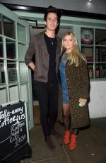 LUCY FALLON at Georges Restaurant in Worsley 10/29/2017