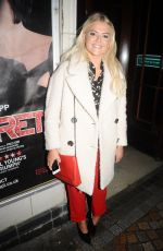 LUCY FALLON Leaves Cabaret Musical at Blackpool Winter Gardens 10/03/2017