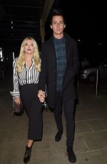 LUCY FALLON Night Out in Manchester 10/18/2017
