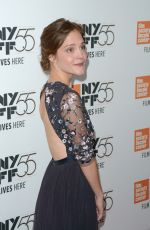 LUCY FAUST at Mudbound Premiere at 55th New York Film Festival 10/12/2017