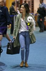 LUCY HALE at Airport in Vancouver 10/22/2017