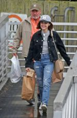 LUCYA HALE Out and About in Vancouver 10/01/2017