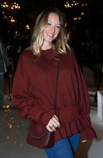 LUDIVINE SAGNIER at Stella McCartney Fashion Show in Paris 10/01/2017