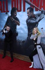 LYDIA HEARST at The Walking Dead, Season 8 Premiere in Los Angeles 10/22/2017