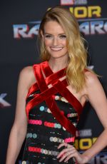 LYDIA HEARST at Thor: Ragnarok Premiere in Los Angeles 10/10/2017