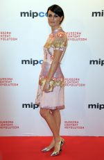 LYNE RENEE at Mipcom Opening Cocktail in Cannes 10/16/2017