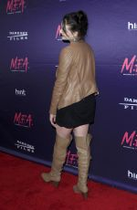 MADDISON BULLOCK at M.F.A. Screening in Los Angeles 10/02/2017