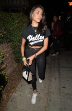 MADISON BEER at Delilah Club in West Hollywood 10/18/2017