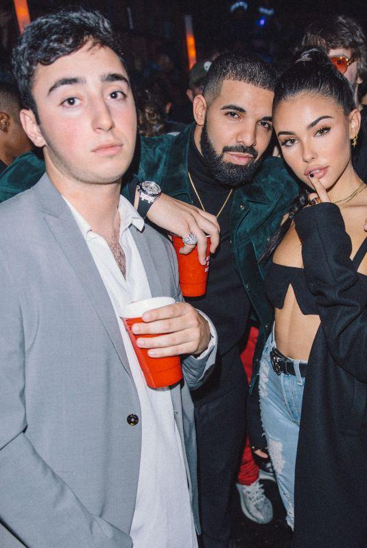 MADISON BEER at Drake