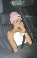 MADISON BEER Out for Dinner at Craig