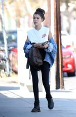 MADISON BEER Out for Lunch in West Hollywood 10/06/2017