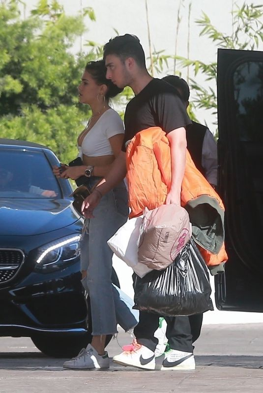 MADISON BEER Out Shopping in West Hollywood 10/08/2017