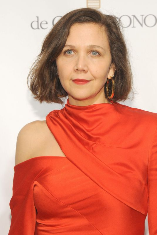 MAGGIE GYLLENHAAL at American Ballet Theatre Fall Gala in New York 10/18/2017