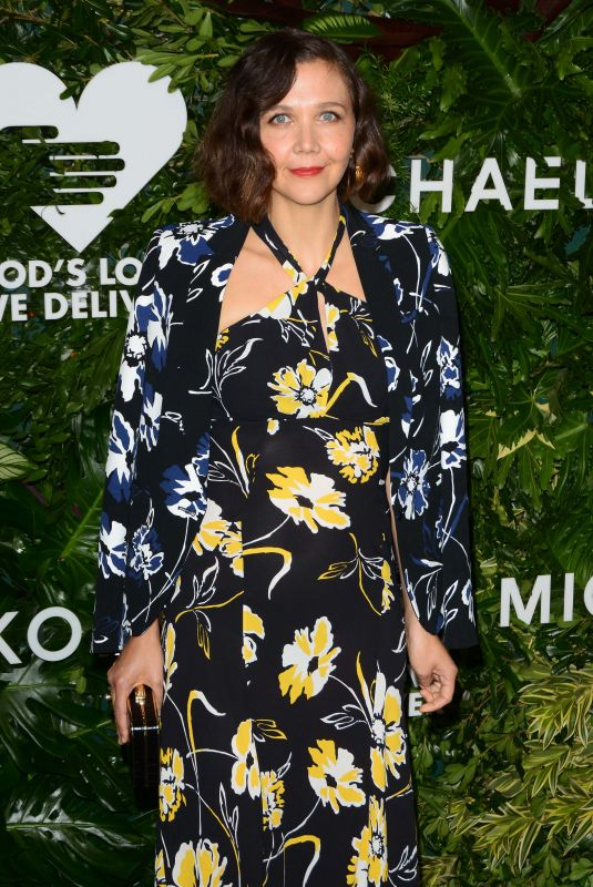 MAGGIE GYLLENHAAL at God's Love We Deliver, Golden Heart Awards in New York 10/16/2017
