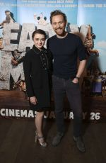 MAISIE WILLIAMS and Tom Hiddleston at Early Man Photocall in London 10/06/2017