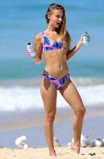 MAJA LUNDGREN in Bikini on the Set of a Photoshoot at Bondi Beach 10/17/2017
