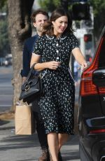 MANDY MOORE and Taylor Goldsmith at Just Food for Dogs in Los Angeles 10/29/2017