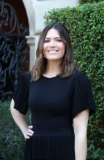 MANDY MOORE at Rape Foundation Annual Brunch in Los Angeles 10/08/2017