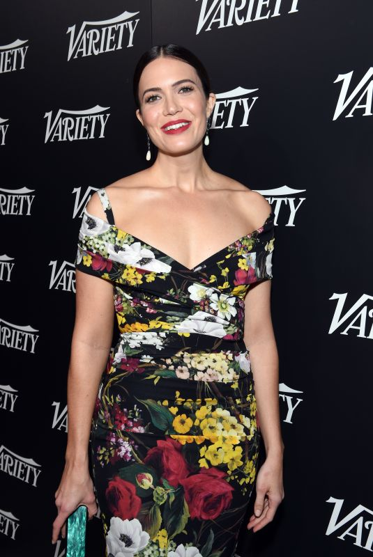 MANDY MOORE at Variety New Leaders in Los Angeles 10/18/2017