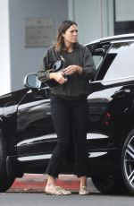 MANDY MOORE Out and About in Beverly Hills 10/28/2017