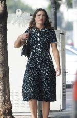 MANDY MOORE Out in Los Angeles 10/29/2017