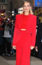 MARGOT ROBBIE Arrives at Good Morning America in New York 10/11/2017