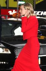 MARGOT ROBBIE Arrives at Good Morning America Studios in New York 10/11/2017
