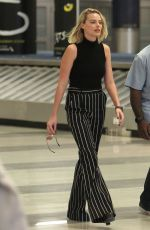 MARGOT ROBBIE at JFK Airport in New York 10/08/2017