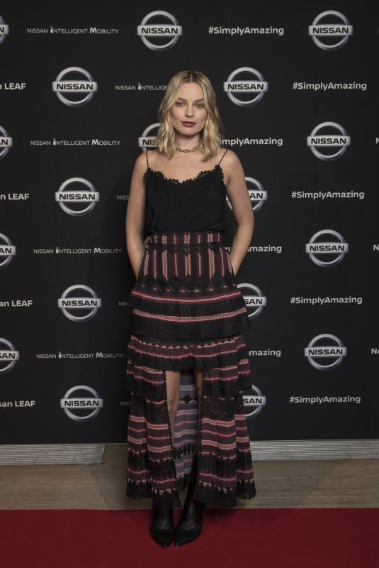 MARGOT ROBBIE at Nissan's Futures 3.0 Event 10/02/2017