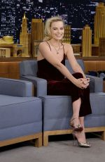 MARGOT ROBBIE at Tonight Show Starring Jimmy Fallon 10/11/2017