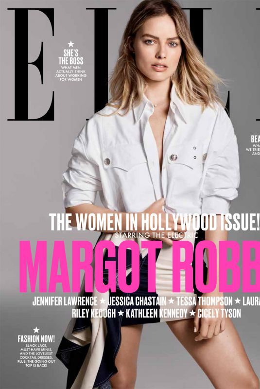 MARGOT ROBBIE in Elle Magazine, Women in Hollywood Issue, November 2017