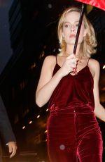 MARGOT ROBBIE Leaves Her Hotel in New York 10/11/2017