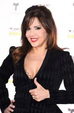 MARIA CANALS at 2017 Latin American Music Awards in Hollywood 10/26/2017