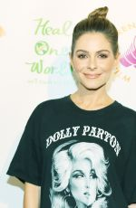MARIA MENOUNOS at The Road to Yulin and Beyond Screening in Los Angeles 10/05/2017