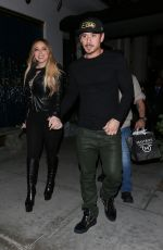MARIAH CAREY and Bryan Tanaka Out for Dinner at Mastro
