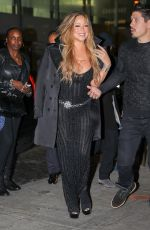 MARIAH CAREY Out and About in New York 10/23/2017