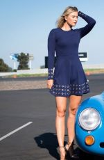 MARIA SHARAPOVA at Porsche Brand Ambassador Photoshoot in Los Angeles 10/30/2017