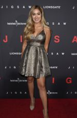 MARILYN FLORES at Jigsaw Premiere in Los Angeles 10/25/2017