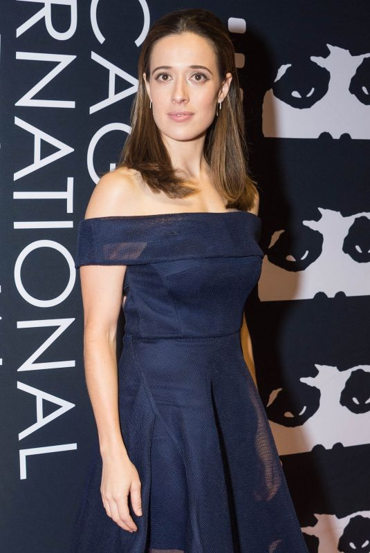 MARINA SQUERCIATI at Marshall Screening at Chicago International Film Festival 10/12/2017