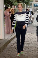 MARION COTILLARD at Valentino Fashion Show in Paris 10/01/2017