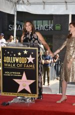 MARISKA HARGITAY at Debra Messing's a Star on the Hollywood Walk of Fame Ceremony in West Hollywood 10/06/2017