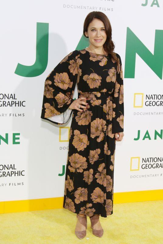 MARLA SOKOLOFF at Jane Premiere in Hollywood 10/09/2017