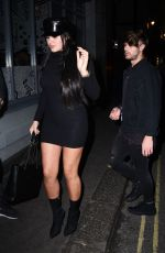 MARNIE SIMPSON at Sixty6 Magazine Launch Party in London 10/12/2017