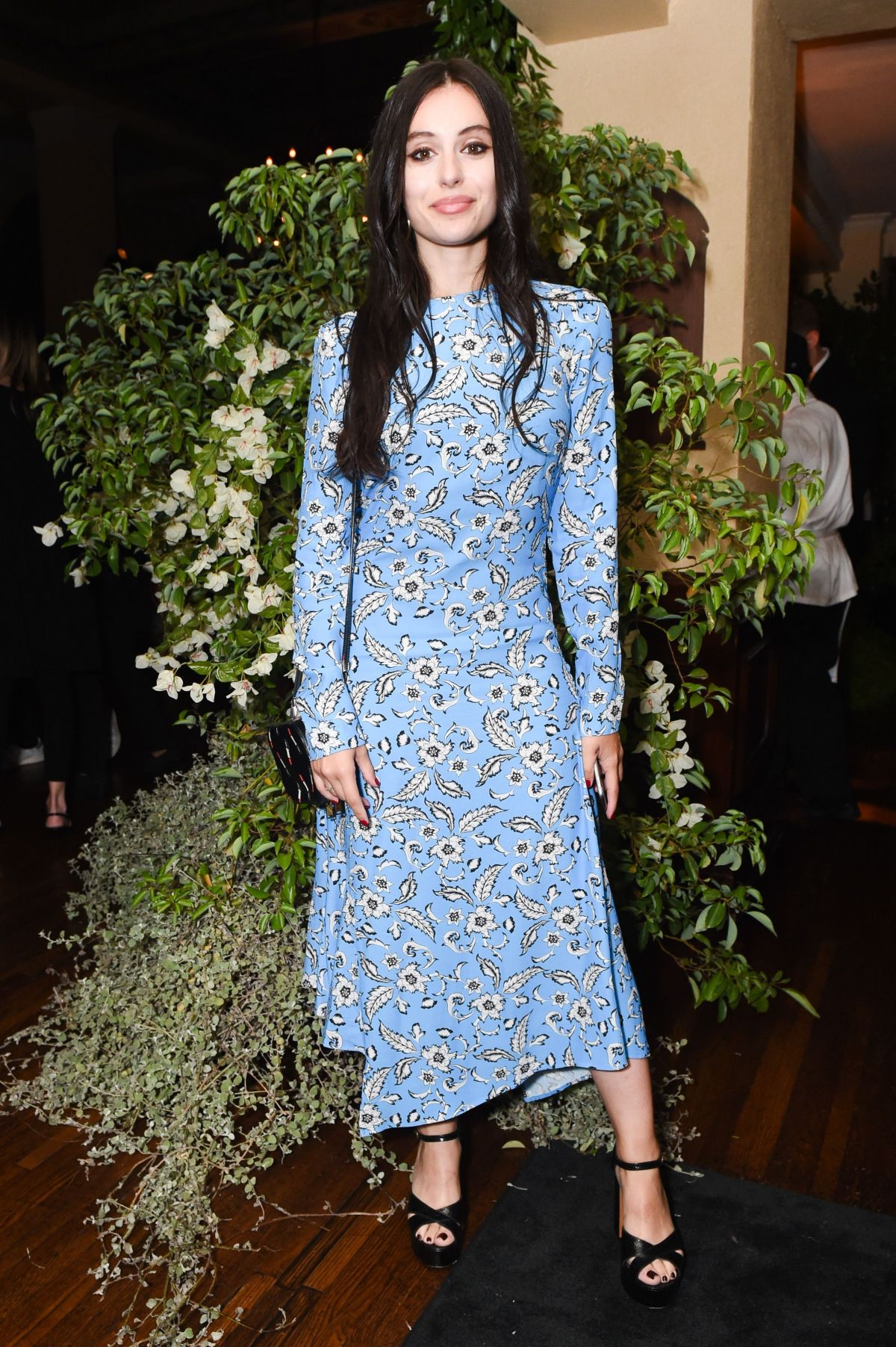 MARTA POZZAN at H&M x Erdem Runway Show & Party in Los Angeles 10/18 ...
