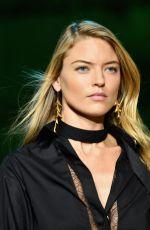MARTHA HUNT at Elie Saab Fashion Show in Paris 09/30/2017